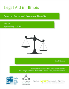 Legal Aid in Illinois: Selected Social and Economic Benefits