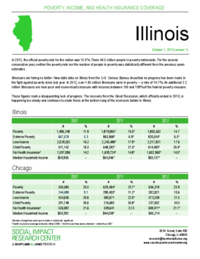 Get the Facts: Data on Poverty in Illinois