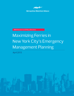 Maximizing Ferries in New York City's Emergency Management Planning