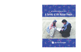 Afghanistan in 2013: A Survey of the Afghan People