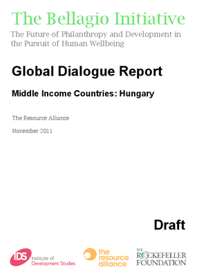 Global Dialogue Report - Middle Income Countries: Hungary