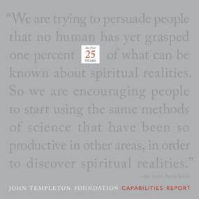 John Templeton Foundation: Capabilities Report