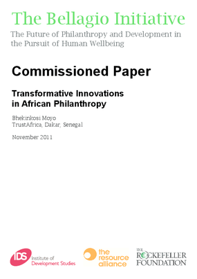 Transformative Innovations in African Philanthropy