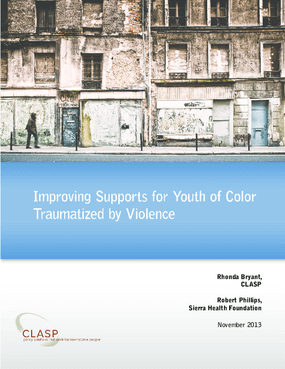 Improving Supports for Youth of Color Traumatized by Violence