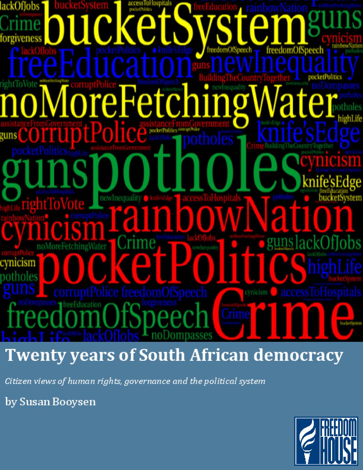 Twenty Years of South African Democracy