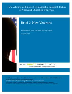 New Veterans in Illinois: Brief 2, New Veterans