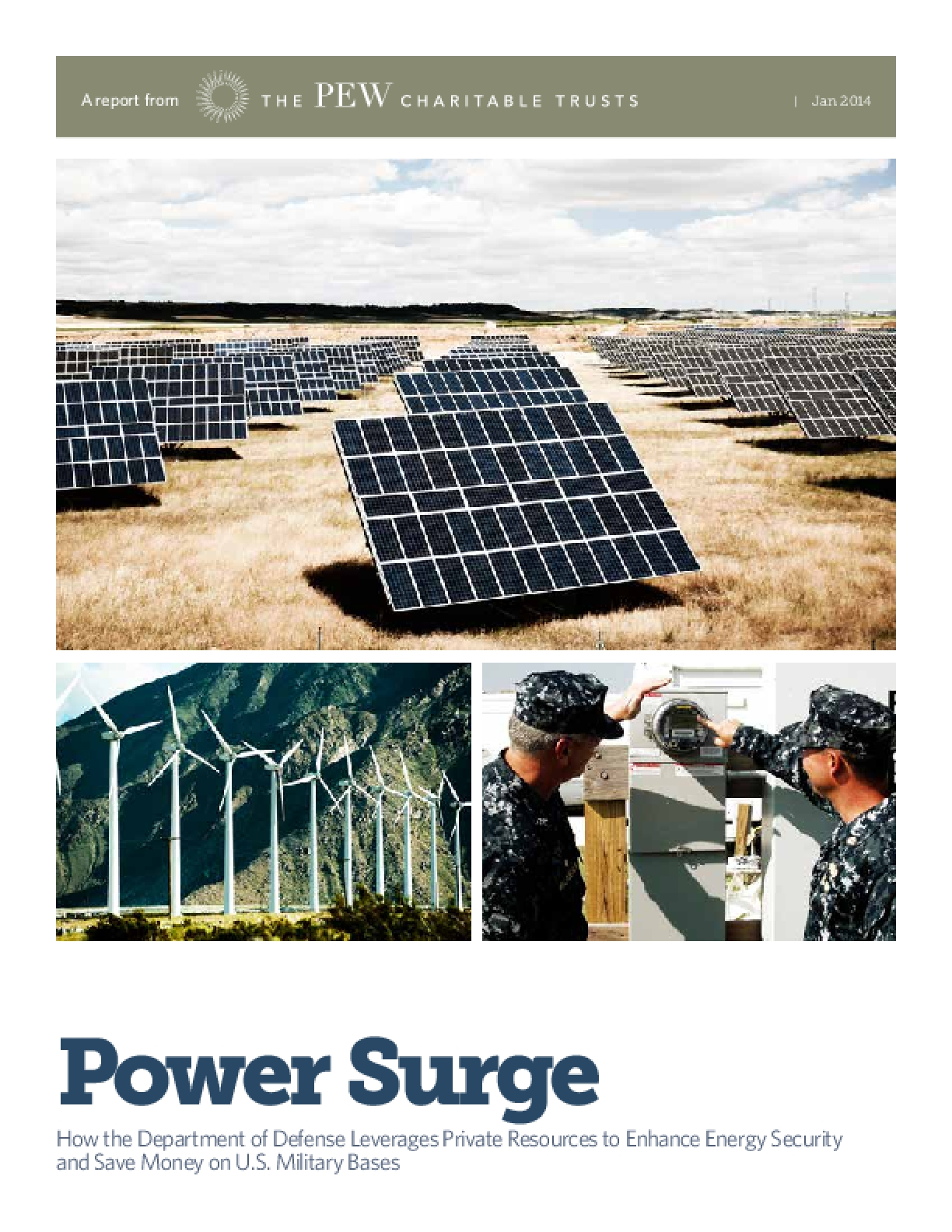 Power Surge: Energy Security and the Department of Defense
