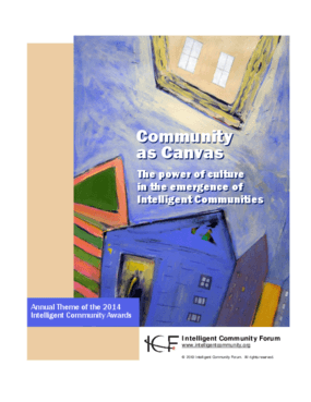 Community as Canvas: The Power of Culture in the Emergence of Intelligent Communities