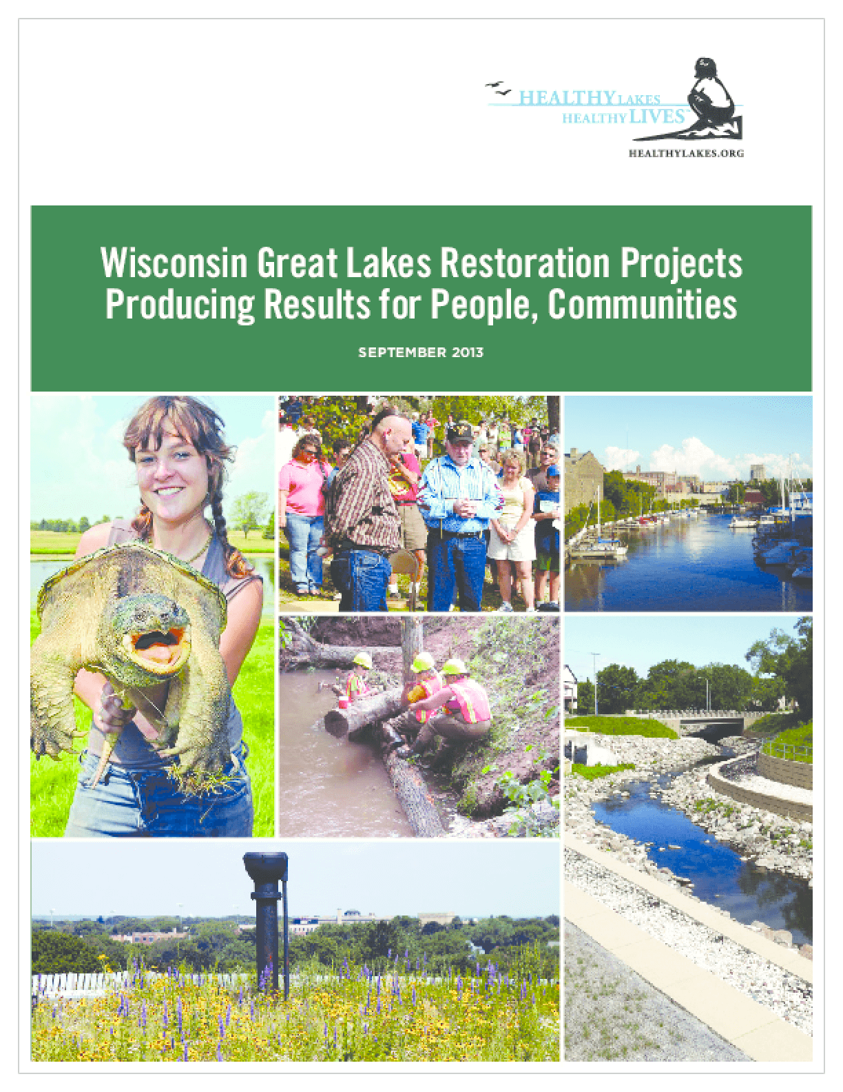 Wisconsin Great Lakes Restoration Projects: Producing Results for People, Communities