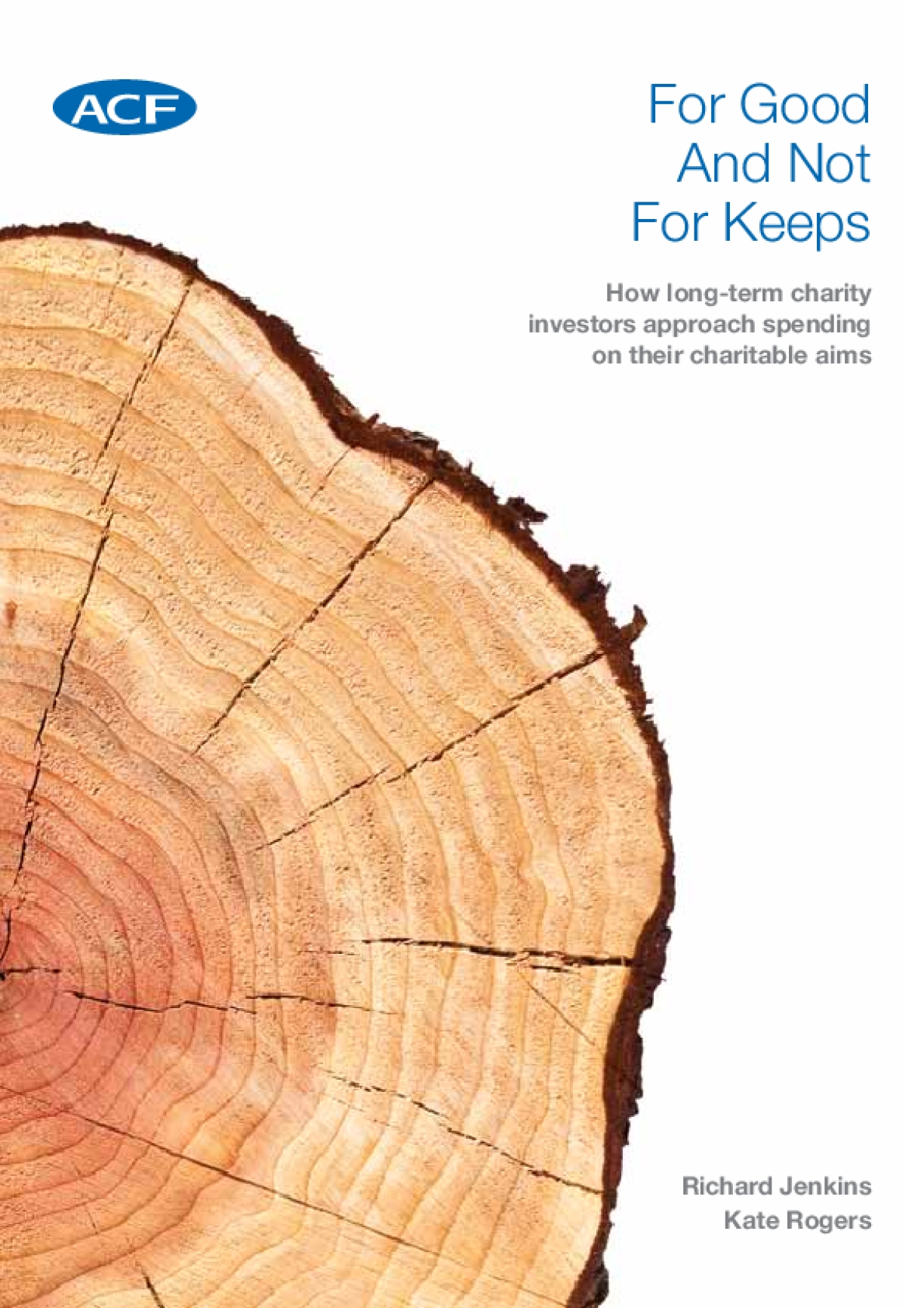 For Good And Not For Keeps: How Long-term Charity Investors Approach Spending on Their Charitable Aims