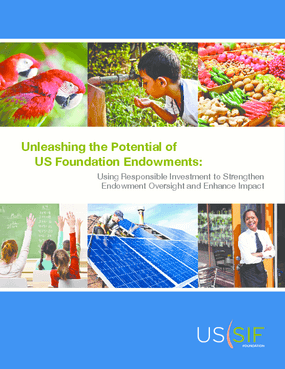 Unleashing the Potential of US Foundation Endowments: Using Responsible Investment to Strengthen Endowment Oversight and Enhance Impact