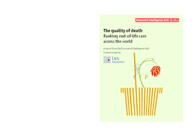 The Quality of Death: Ranking End-of-Life Care Across the World