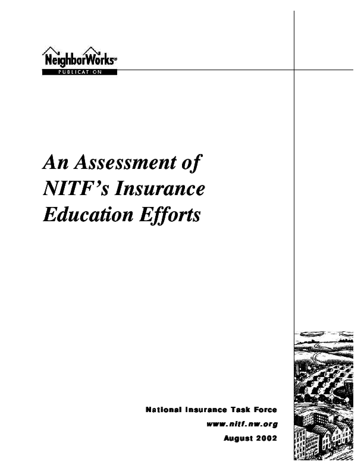 Assessment of NIA's (NITF) Insurance Education Efforts