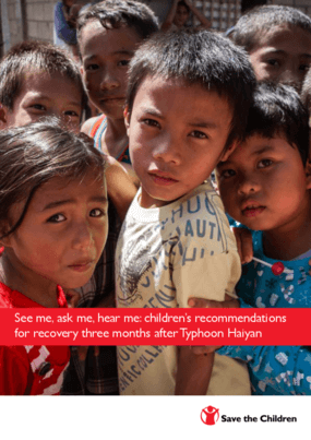 See Me, Ask Me, Hear Me: Children's Recommendations for Recovery Three Months After Typhoon Haiyan