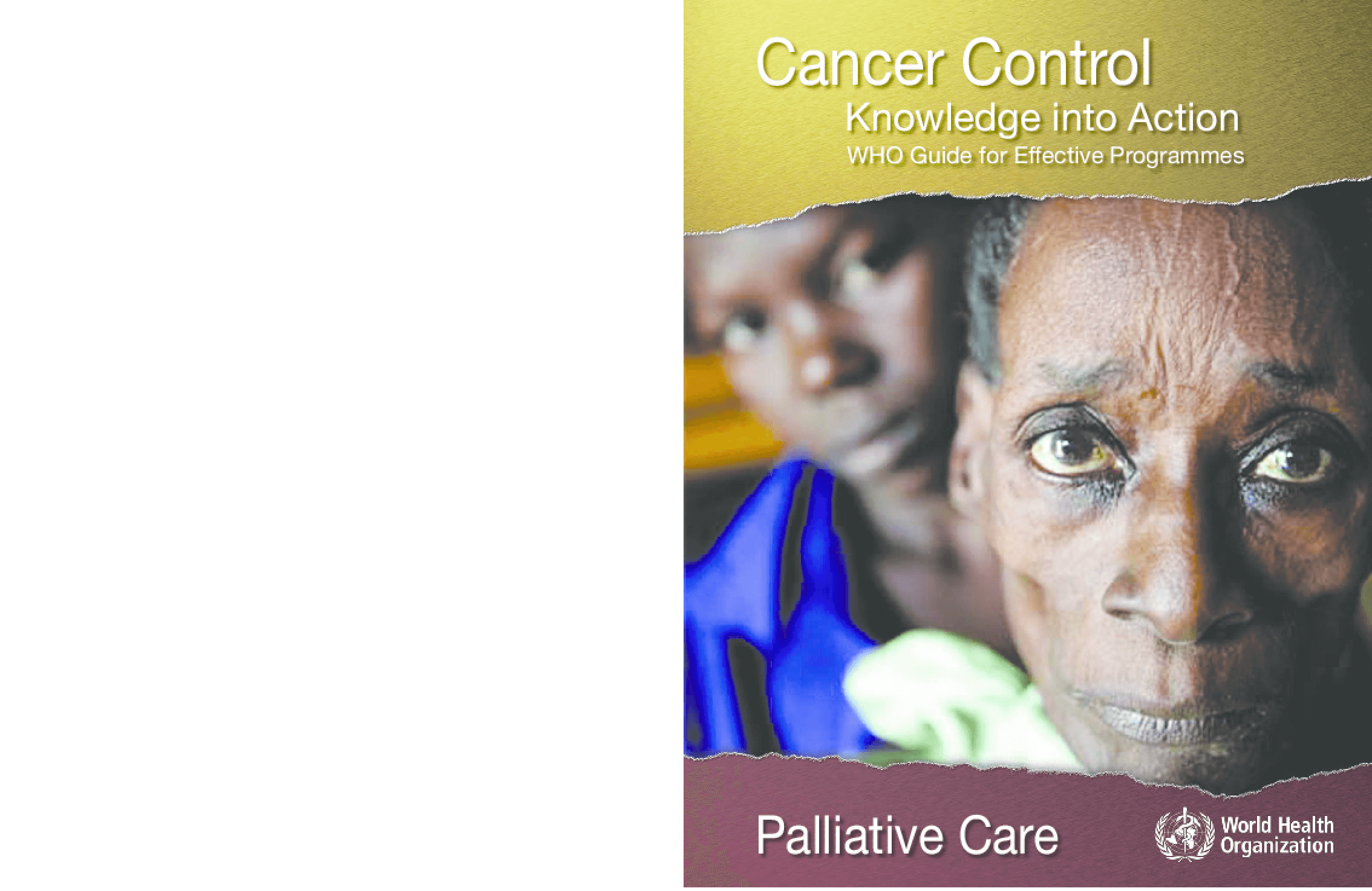 Cancer Control: Knowledge into Action, Palliative Care