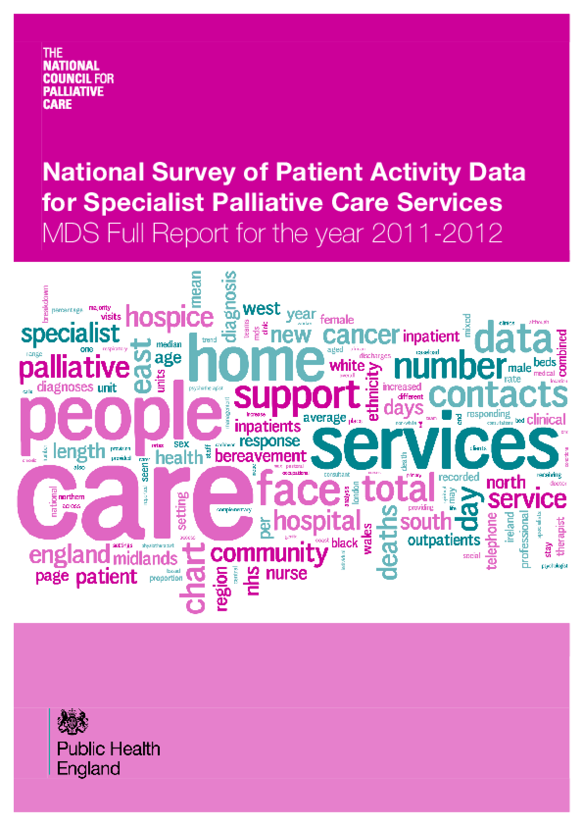 National Survey of Patient Activity Data for Specialist Palliative Care Services