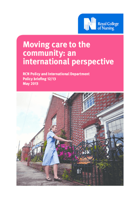 Moving Care to the Community: An International Perspective