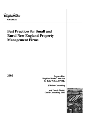 Best Practices for Small and Rural New England Property Management Firms