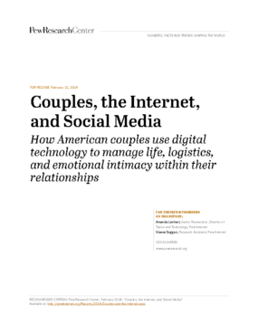 Couples, the Internet, and Social Media