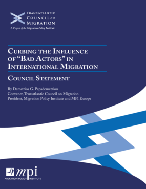 "Curbing the Influence of ""Bad Actors"" in International Migration: Council Statement"