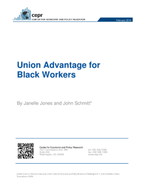 Union Advantage for Black Workers