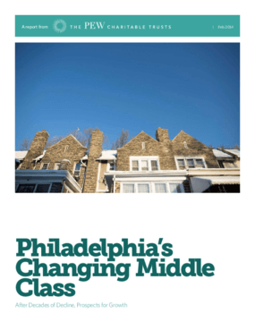 Philadelphia's Changing Middle Class: After Decades of Decline, Prospects for Growth