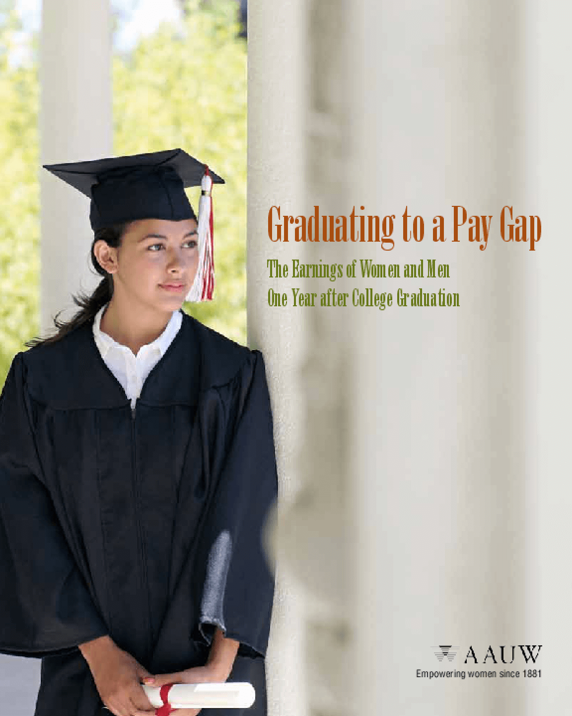 Graduating to a Pay Gap: The Earnings of Women and Men One Year After College Graduation