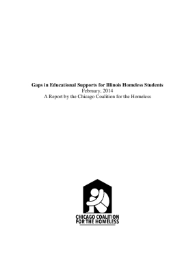 Gaps in Educational Supports for Illinois Homeless Students