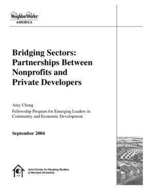 Bridging Sectors: Partnerships Between Nonprofits and Private Developers
