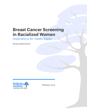 Breast Cancer Screening in Racialized Women: Implications for Health Equity
