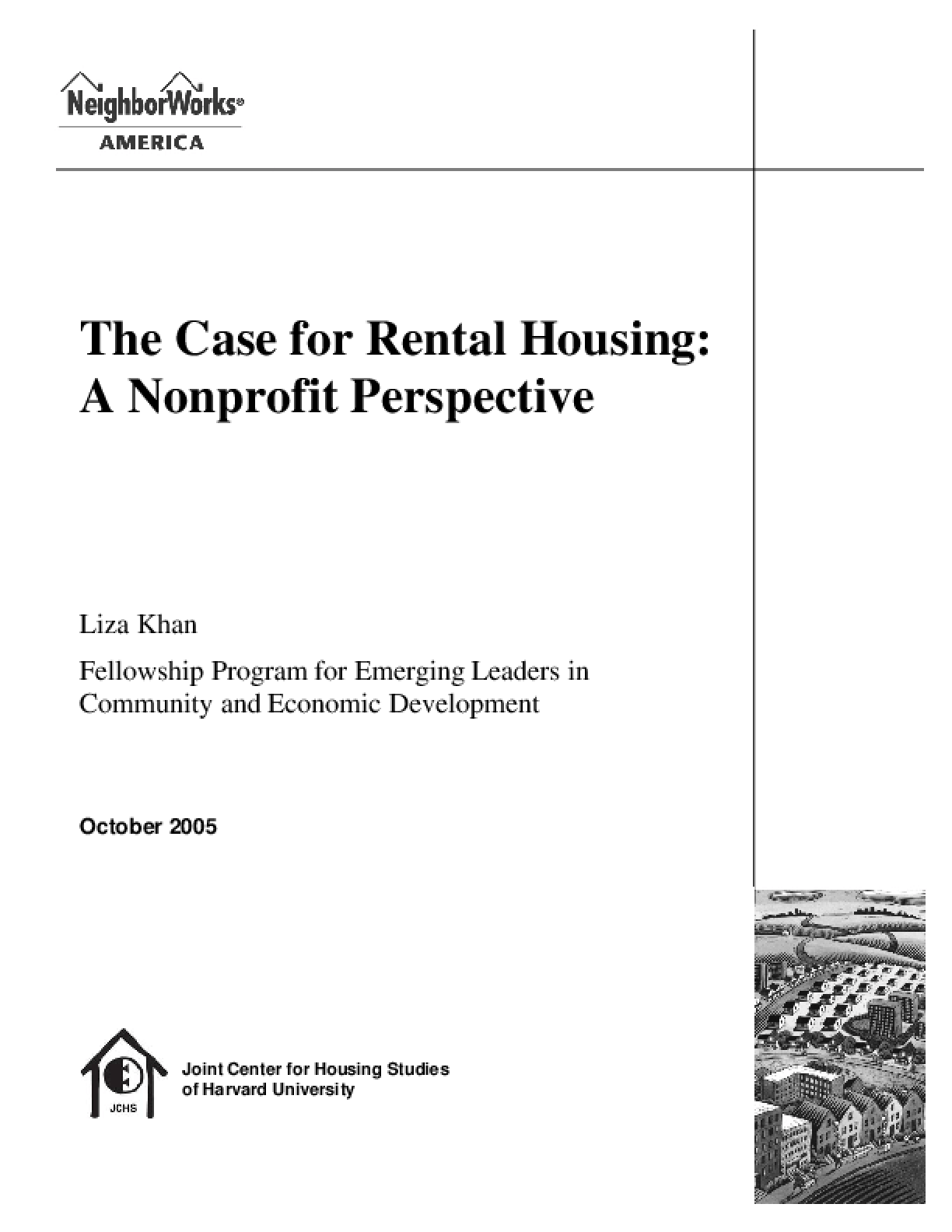 The Case for Rental Housing - A Nonprofit Perspective