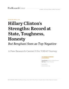 Hillary Clinton's Strengths: Record at State, Toughness, Honesty