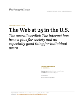 The Web at 25 in the U.S.