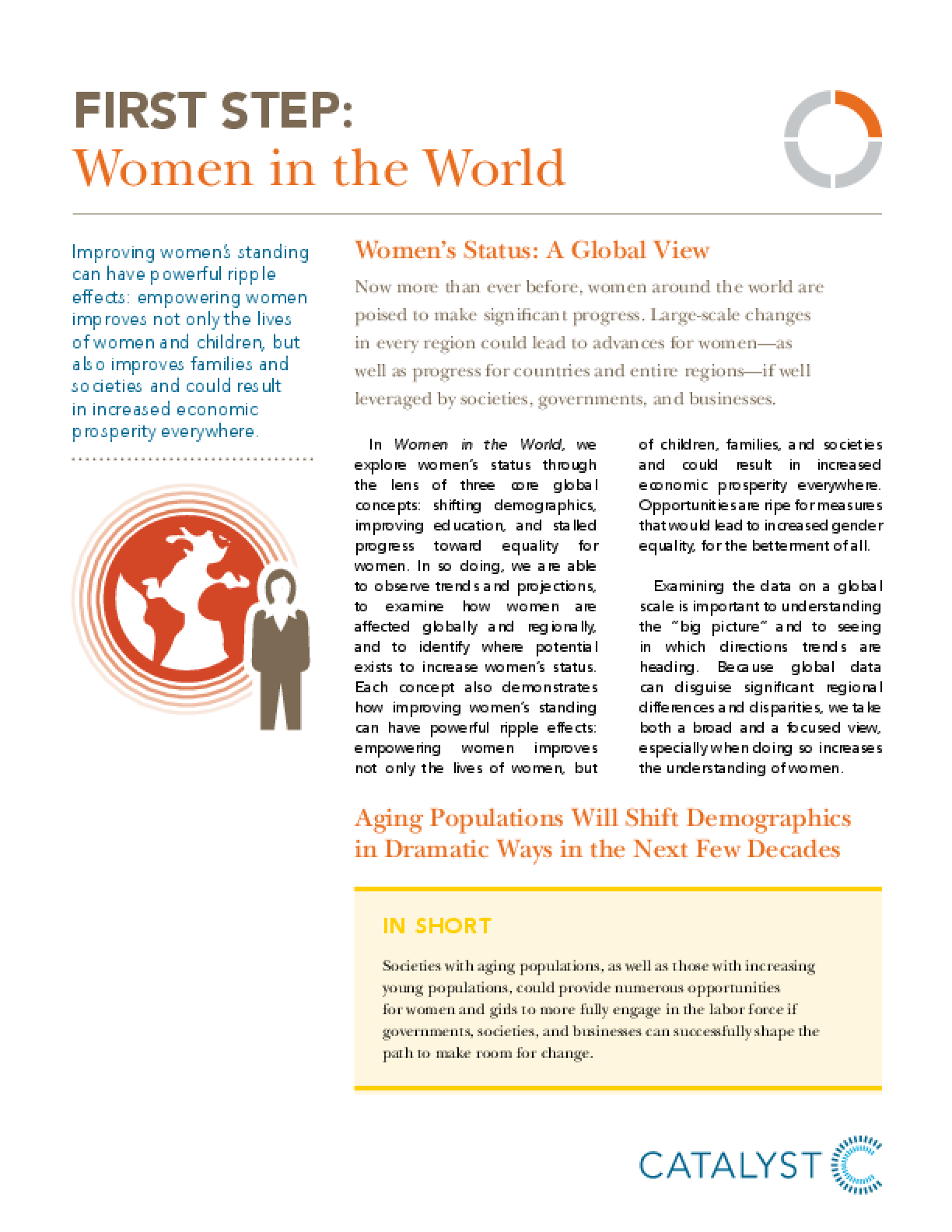 First Step: Women in the World