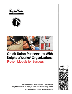 Credit Union Partnerships with NeighborWorks Organizations: Proven Models for Success