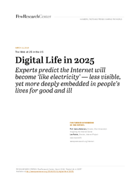 The Web at 25 in the U.S.: Digital Life in 2025