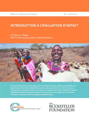 Introduction à l'Evaluation d'Impact