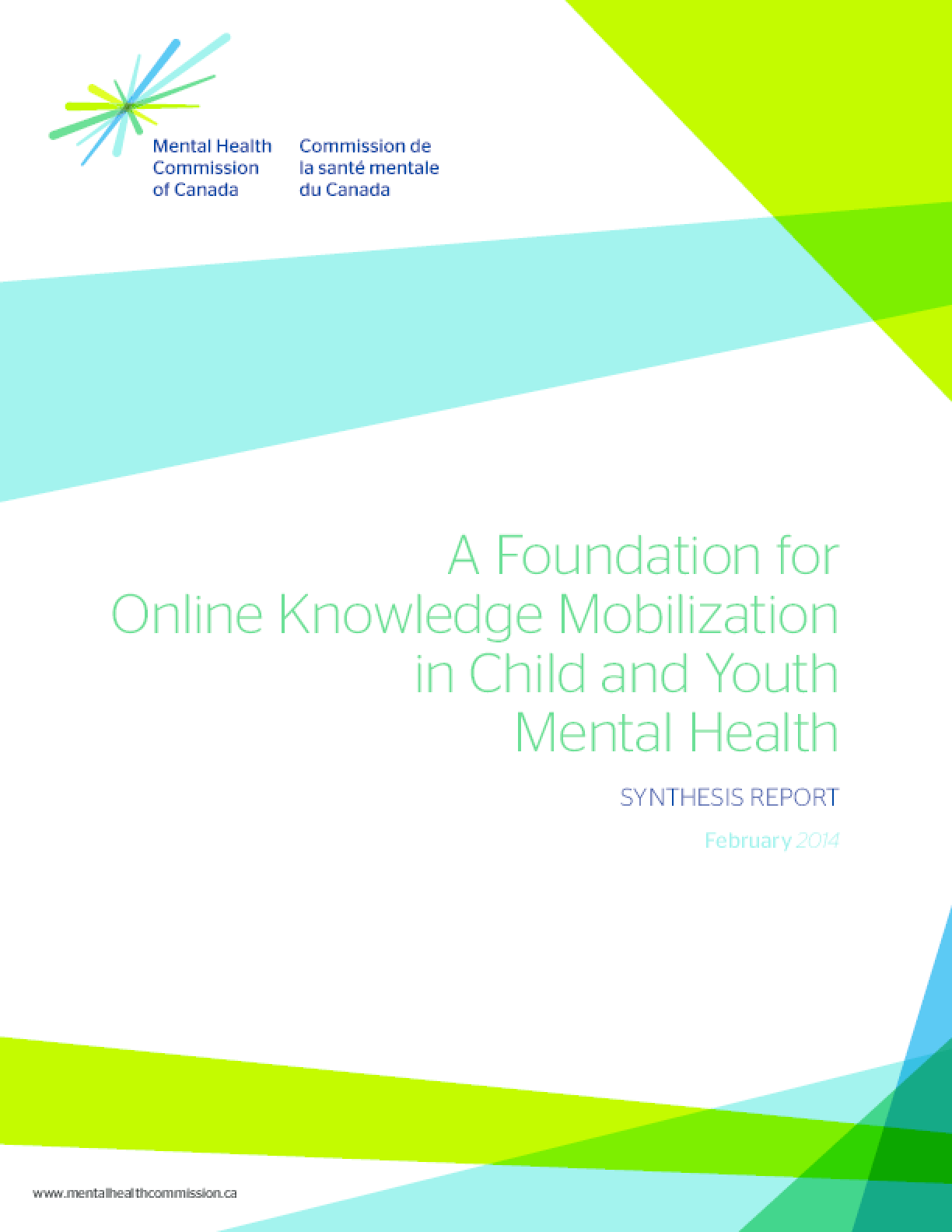 A Foundation for Online Knowledge Mobilization in Child and Youth Mental Health: Synthesis Report
