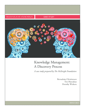 Knowledge Management: A Discovery Process