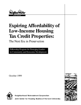 Expiring Affordability of Low-Income Housing Tax Credit Properties: The Next Era in Preservation