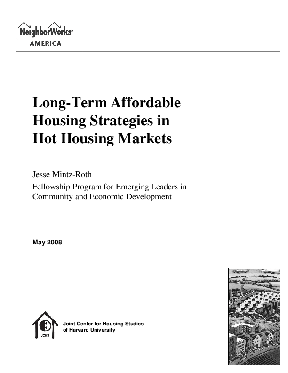 Long-Term Affordable Housing Strategies in Hot Housing Markets