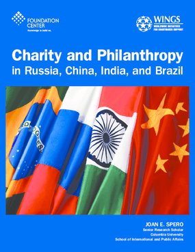 Charity and Philanthropy in Russia, China, India, and Brazil