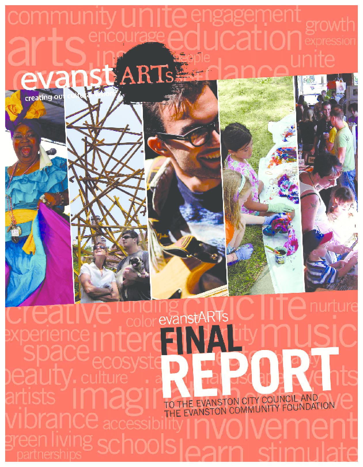 EvanstARTs Final Report: To the Evanston City Council and The Evanston Community Foundation