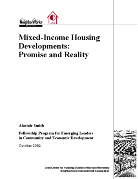 Mixed-Income Housing Developments: Promise and Reality