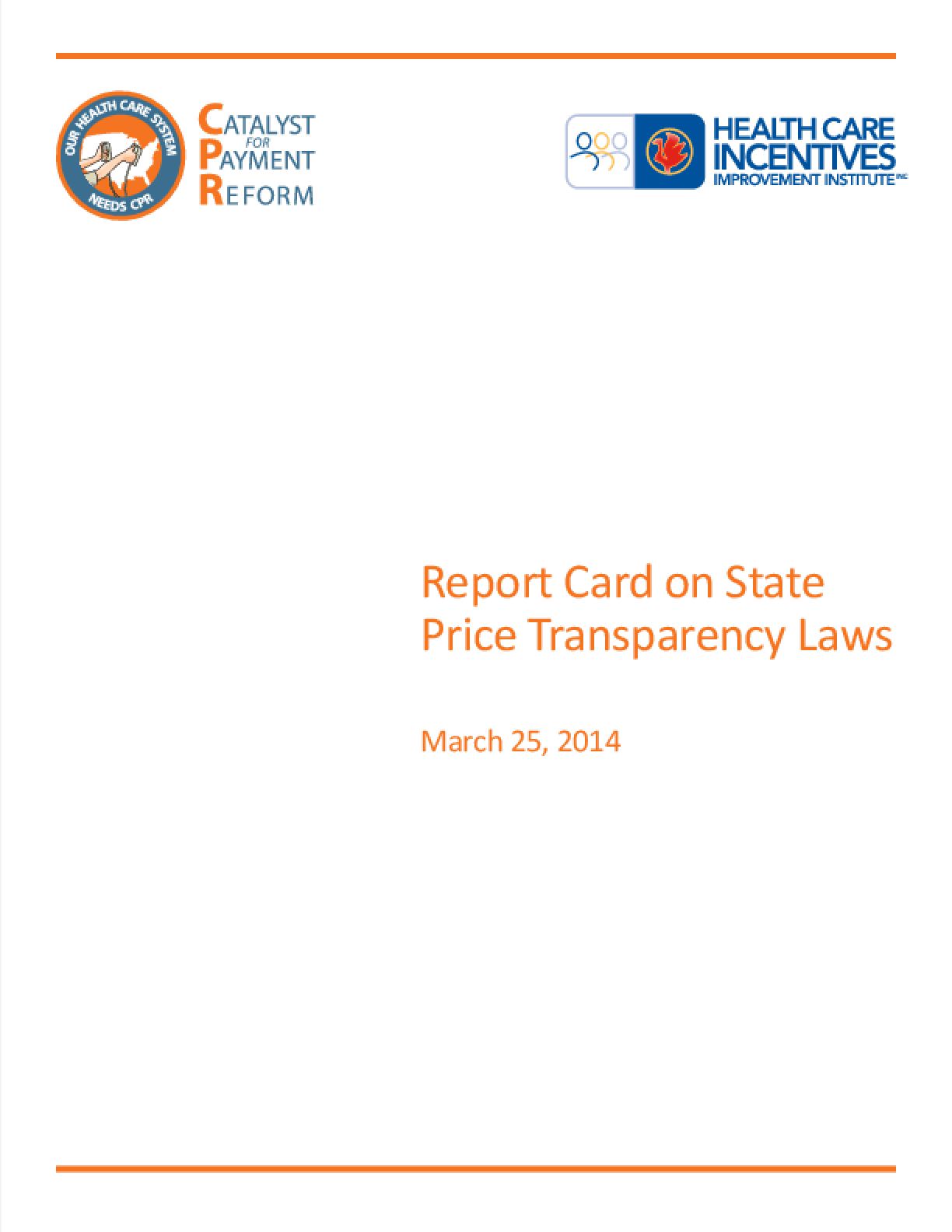 Report Card on State Price Transparency Laws