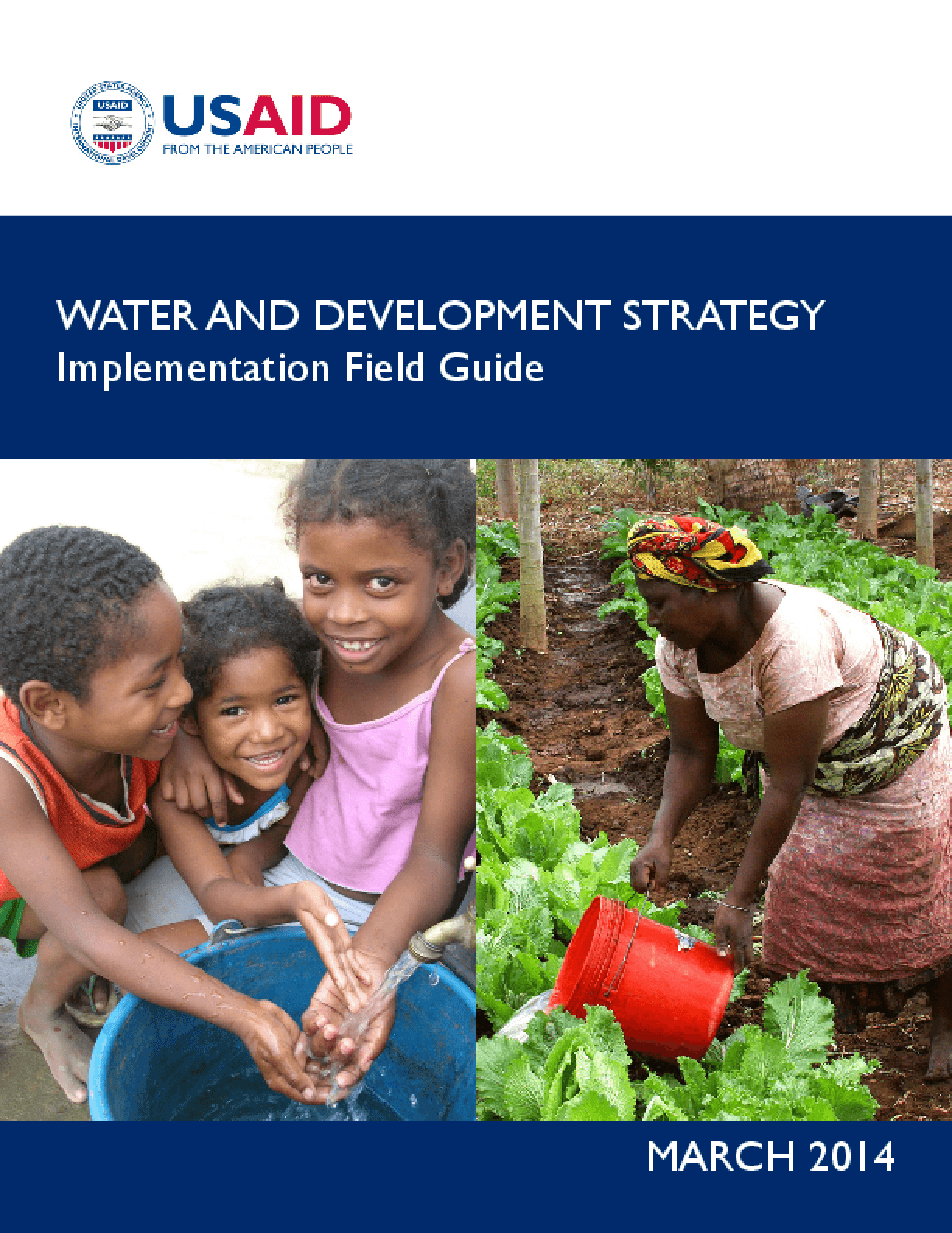 Water and Development Strategy: Implementation Field Guide