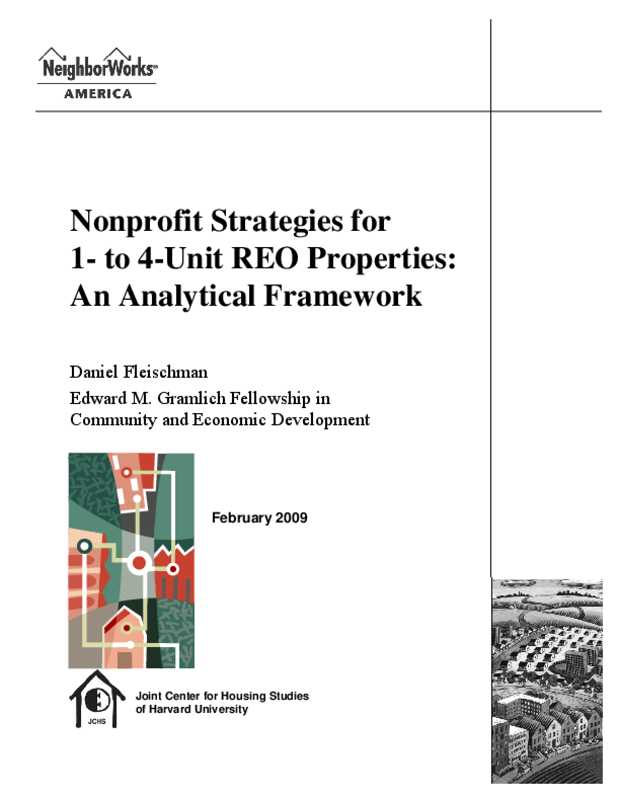 Nonprofit Strategies for 1- to 4-Unit REO Properties: An Analytical Framework