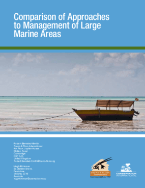 Comparison of Approaches to Management of Large Marine Areas