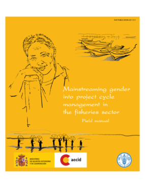Mainstreaming Gender Into Project Cycle Management in the Fisheries Sector