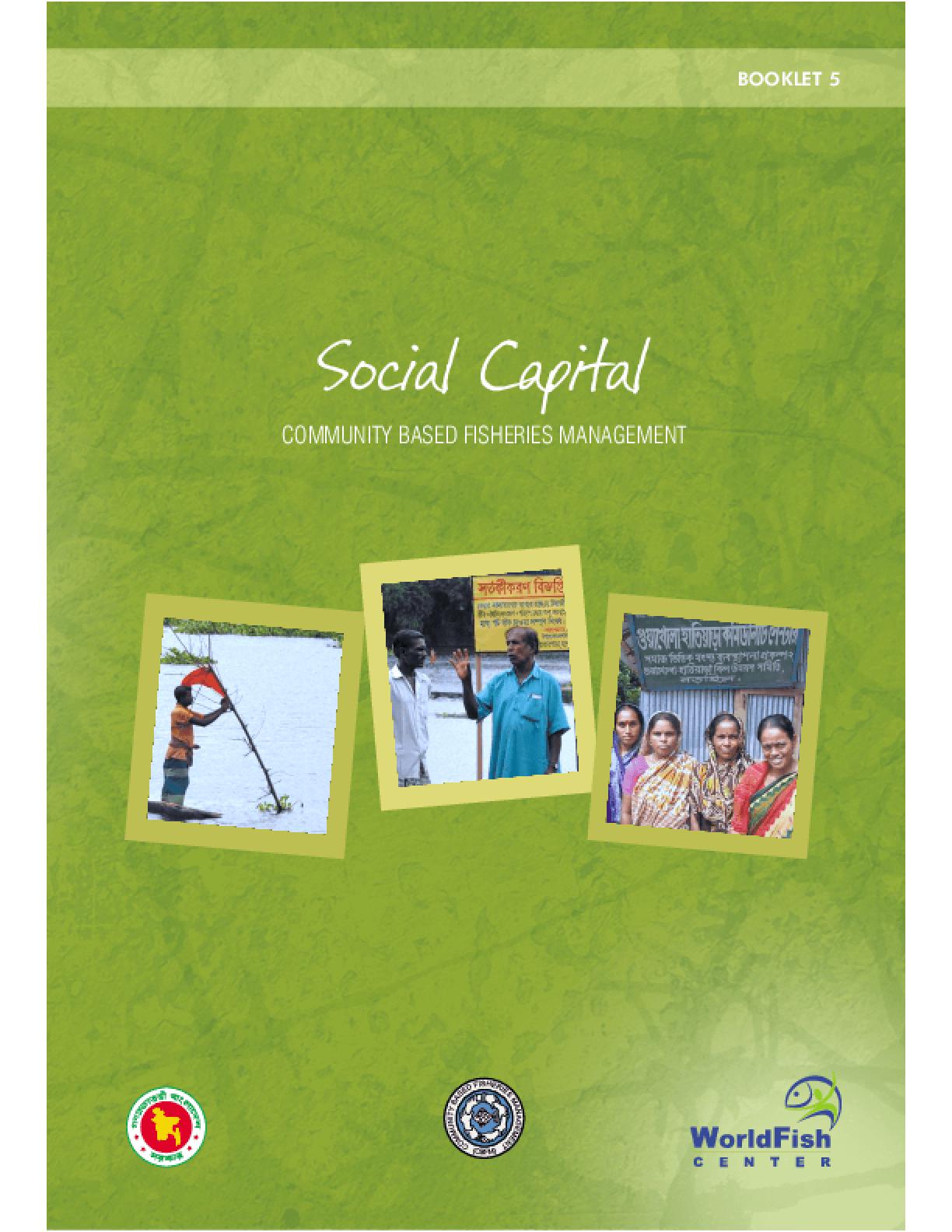 Social Capital: Communities Based Fisheries Management
